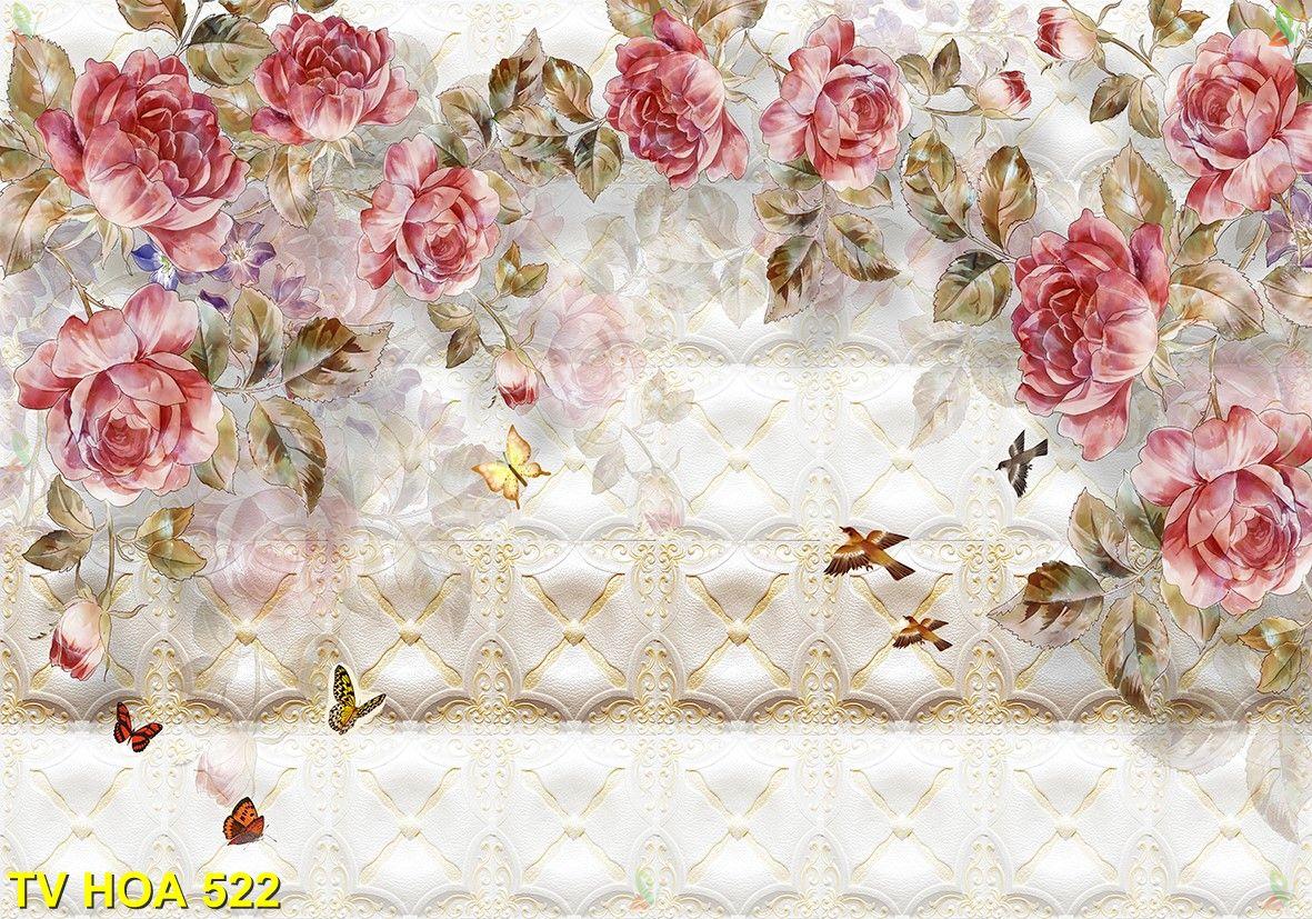 Tranh về hoa TV Hoa 522