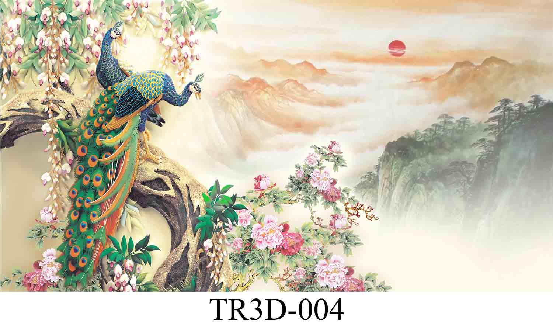 004 - Tranh hồ cá TR3D-004