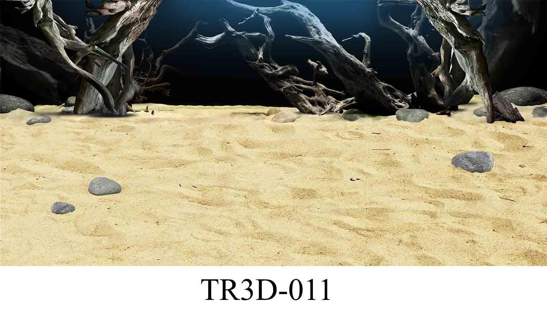 011 - Tranh hồ cá TR3D-011