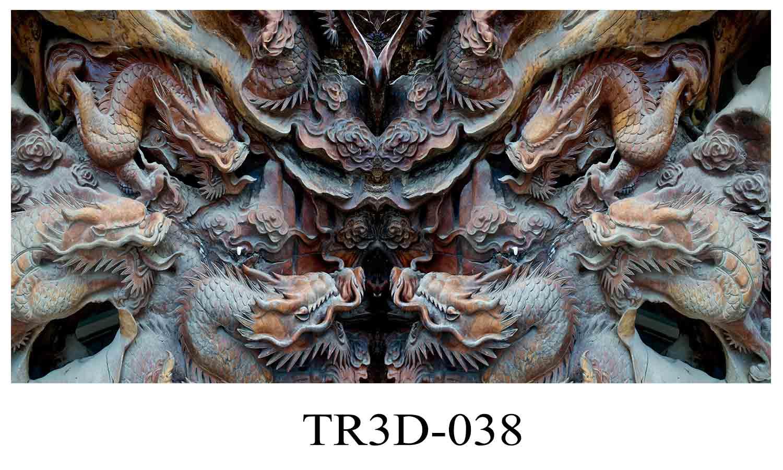 038 - Tranh hồ cá 038