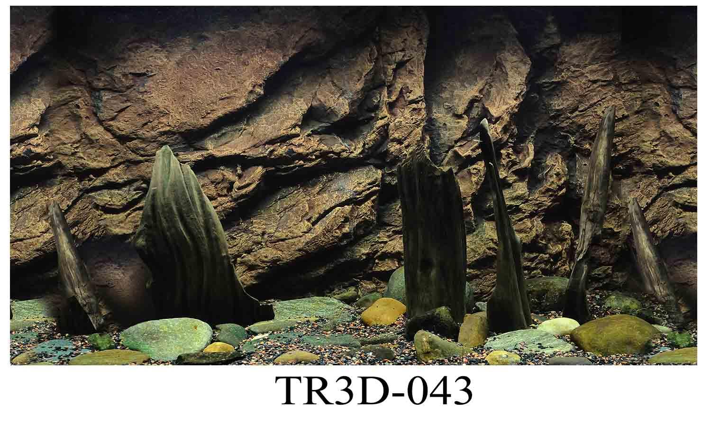 043 - Tranh hồ cá 043