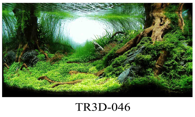 046 - Tranh hồ cá 046