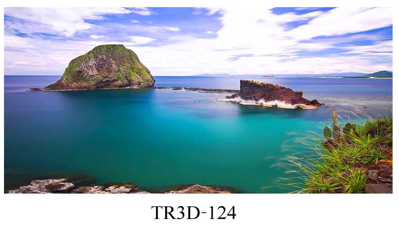 124 - Tranh hồ cá 124
