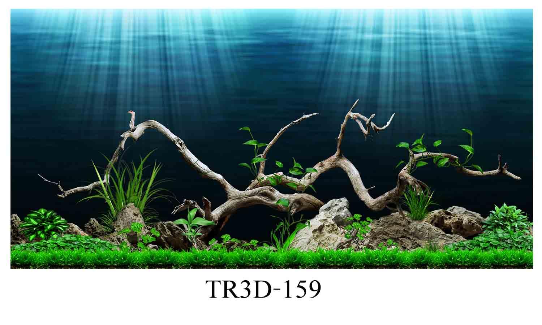 159 - Tranh hồ cá 159