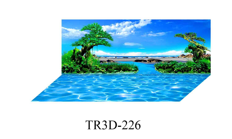 226 - Tranh hồ cá 226