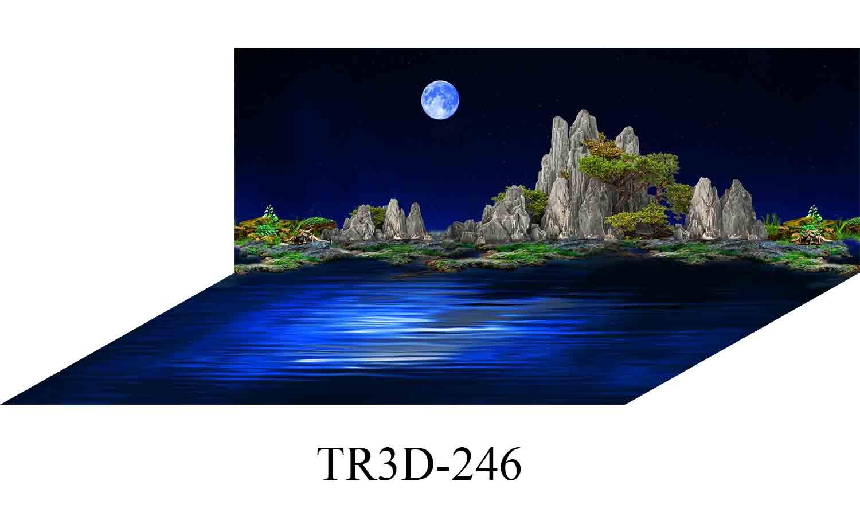 246 - Tranh hồ cá 246