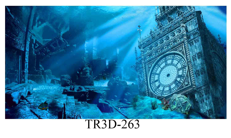 263 - Tranh hồ cá 263