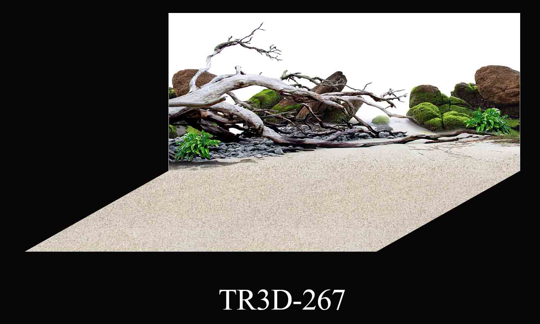 267 - Tranh hồ cá 267