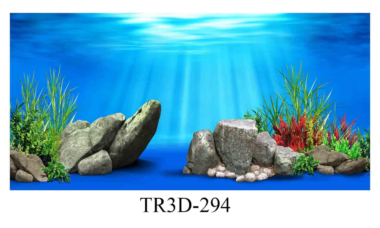 294 - Tranh hồ cá 294