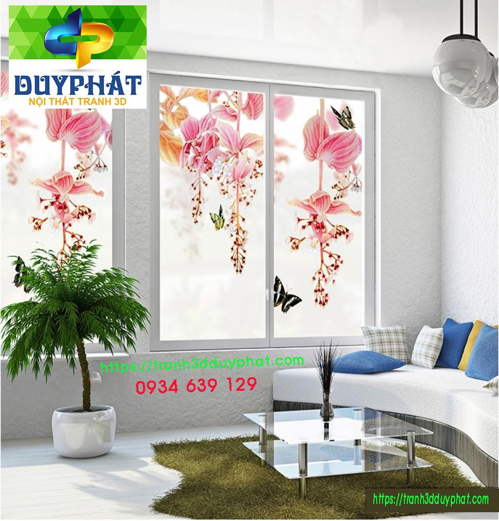 full Tranh dan kinh K060 10629 1 - Tranh hoa dán kính phòng khách đẹp
