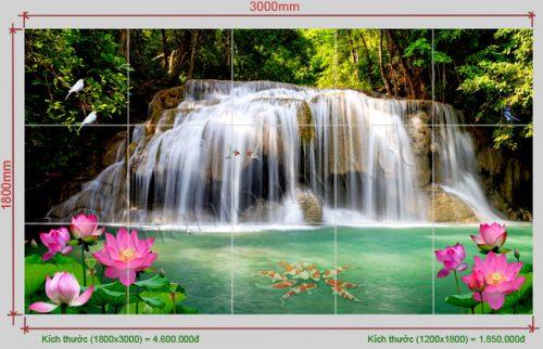 Tranh gach men dep 500x322 - Tranh phong cảnh đính đá đẹp, làm sống động không gian nội thất