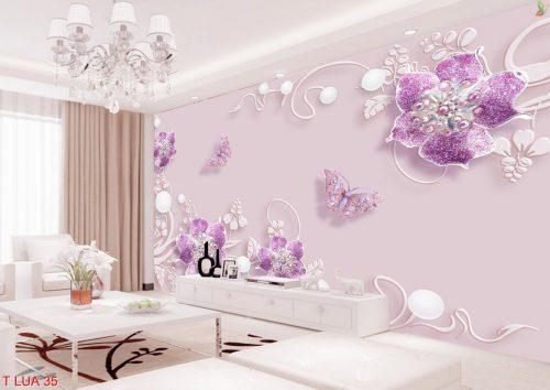 T Lua 35 500x354 - Tranh lụa 3D - điểm nhấn cho ngôi nhà của bạn
