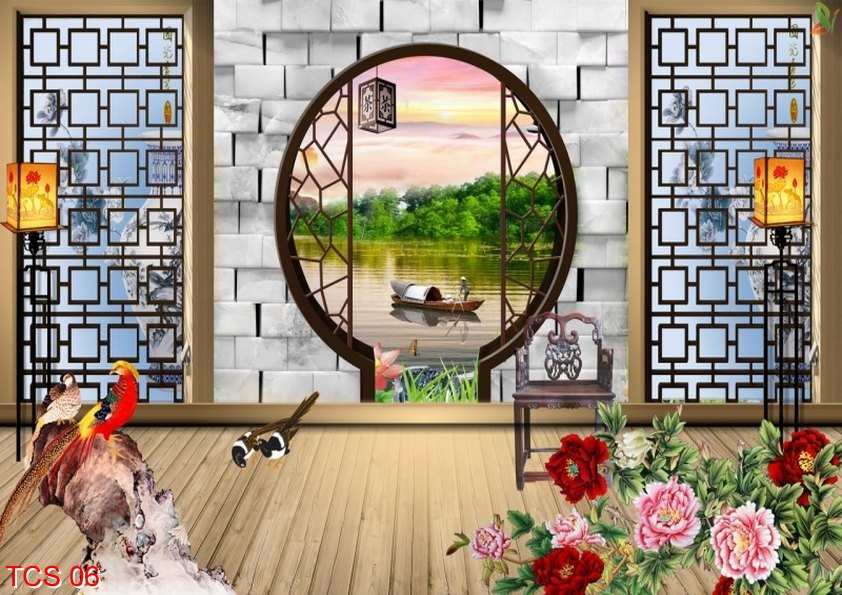 TCS 06 - Tranh treo tường phòng ngủ đẹp hợp phongthủy
