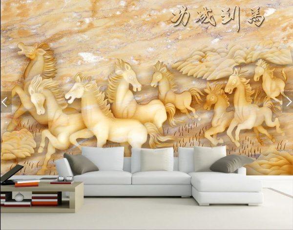 tranh giấy dán tường 3d