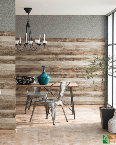 gỗ - Tư vấn chọn mẫu giấy dán tường dành cho phòng khách đẹp nhất hiện nay