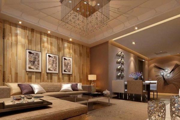 gỗ2 e1552441265391 - Tư vấn chọn mẫu giấy dán tường dành cho phòng khách đẹp nhất hiện nay