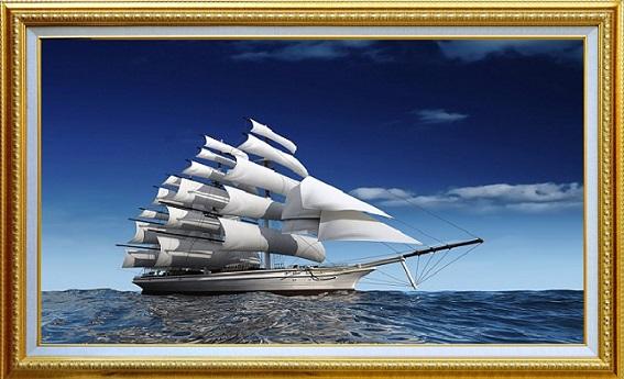 gio - Tranh phong thủy hóa giải điềm xui, mang lại tài lộc cho gia chủ