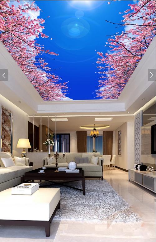 rần xuyên sáng phòng khách 1 - Trần xuyên sáng phòng khách điểm nhấn rực rỡ cho ngôi nhà của bạn