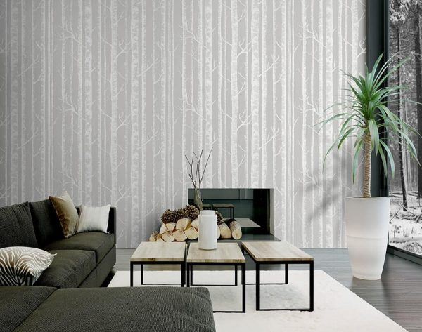 trơn e1552441166324 - Tư vấn chọn mẫu giấy dán tường dành cho phòng khách đẹp nhất hiện nay