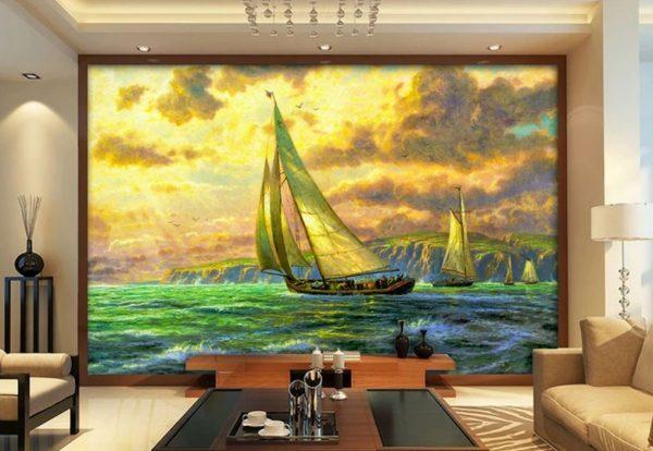 tranh dán kính phòng khách 1 e1553594105290 - Tranh dán kính phòng khách và những lợi ích tuyệt vời