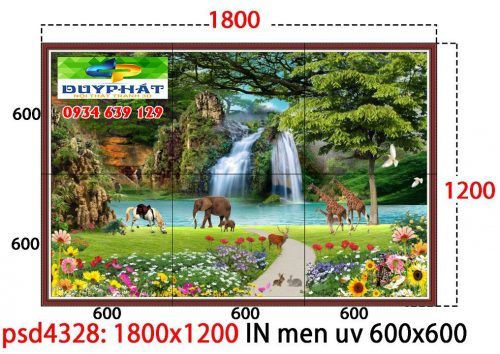 tranh kính 2 500x354 - Nghệ thuật nổi bật cho phòng khách nhờ trang trí bằng tranh kính