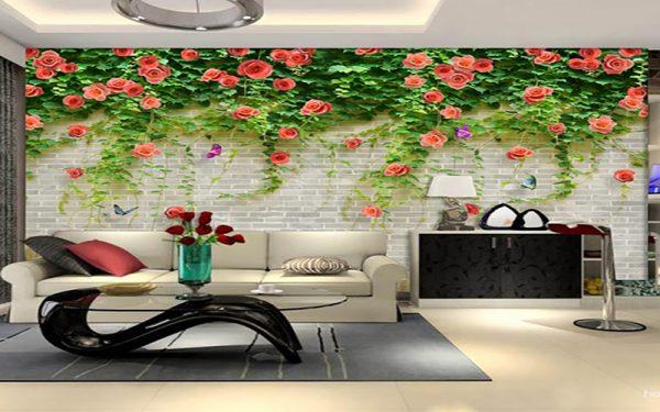 tranh2 1 e1552440929263 - Tư vấn chọn mẫu giấy dán tường dành cho phòng khách đẹp nhất hiện nay