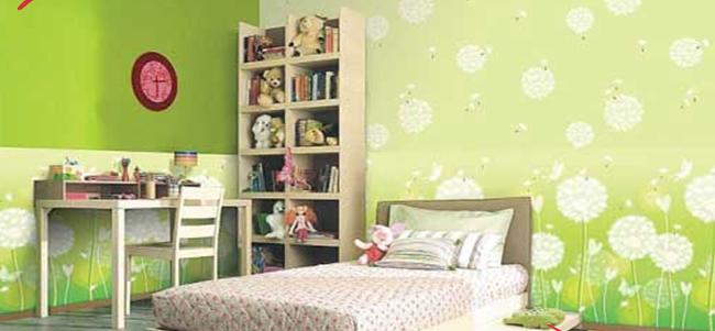 giay dan tuong 3 - Cách chọn giay dan tuong cho phòng ngủ của bé theo độ tuổi