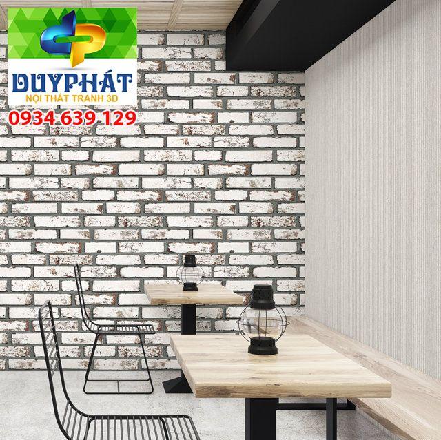 giấy dán tường cafe của tranh 3d duy phát