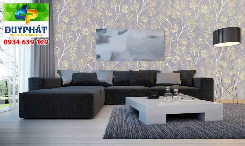 giấy dán tường phòng khách của tranh 3d duy phát