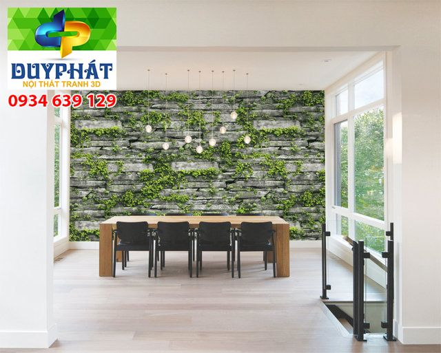Giấy dán tường spa GDTSPA027 ấn tượng