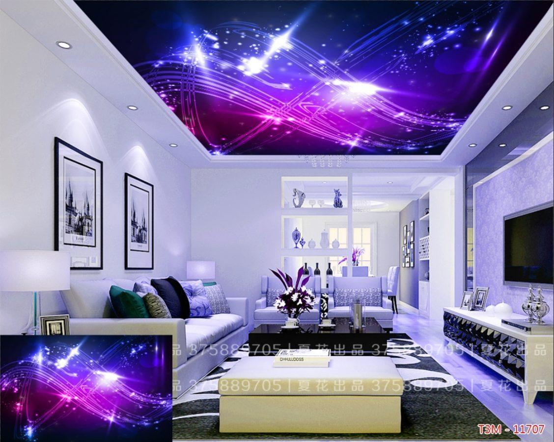 trần xuyên sáng 1 1128x900 - Không gian như sống dậy với thiết kế trần xuyên sáng độc, lạ tại Tphcm