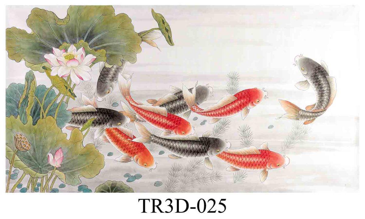 tranh 3d hồ cá 1 1200x720 - Tranh 3d hồ cá và ý nghĩa phong thủy mà nó mang lại.