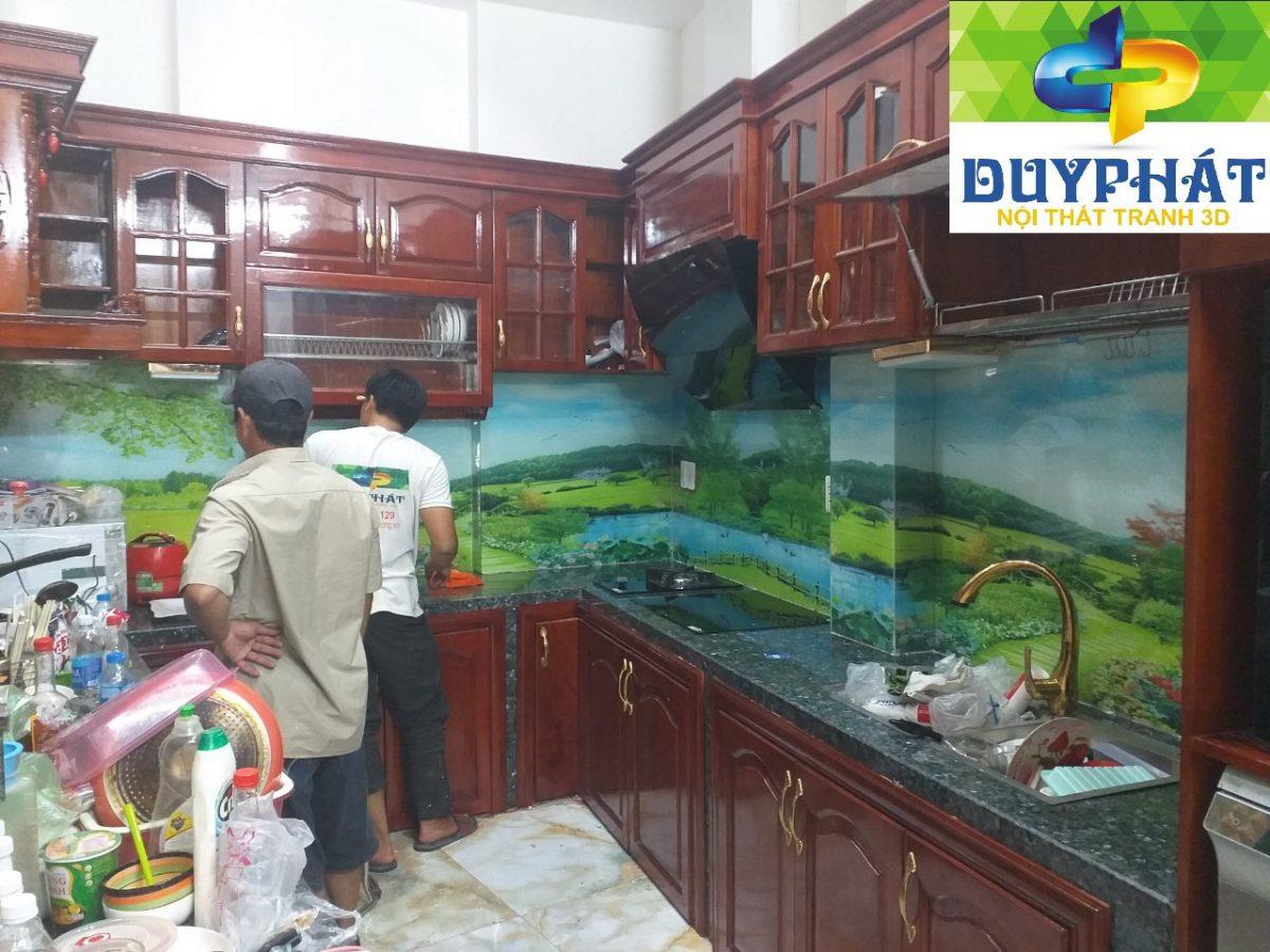 tranh dánh phòng bếp