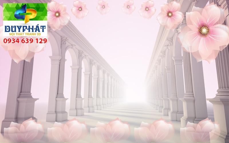Tranh con đường TCĐ001 của tranh 3D Duy Phát