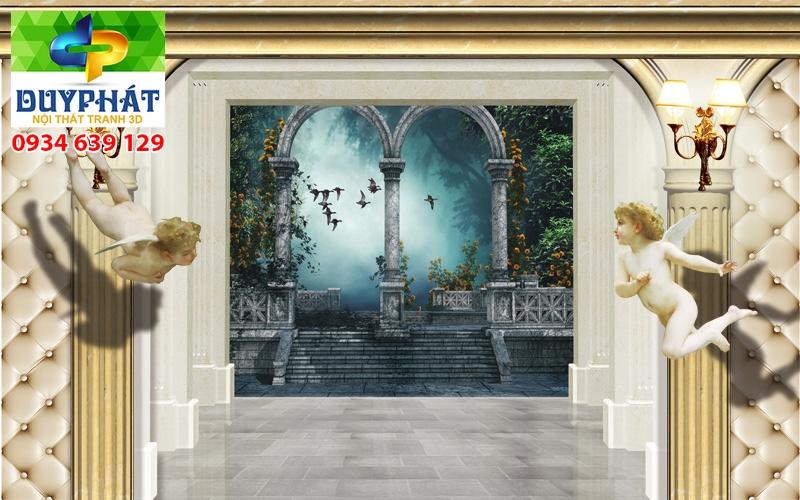 Tranh con đường TCĐ156 của tranh 3D Duy Phát