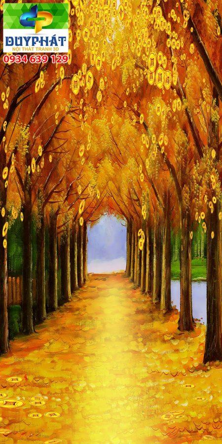 Tranh con đường TCĐ170 của tranh 3D Duy Phát