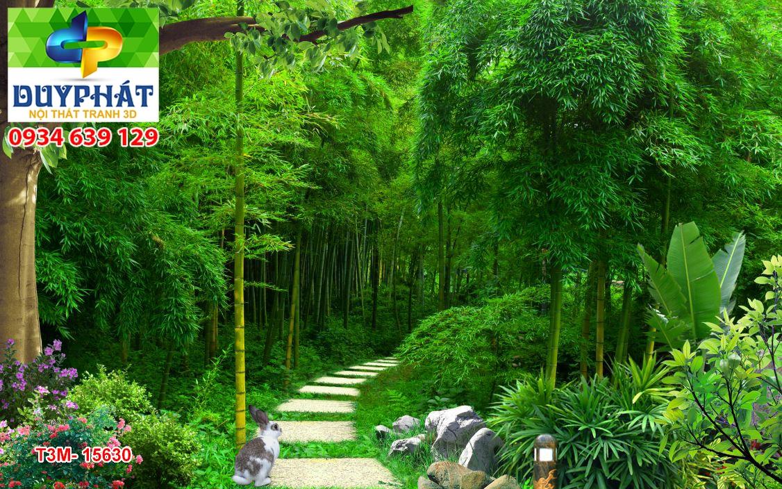 Tranh con đường TCĐ200 của tranh 3D Duy Phát