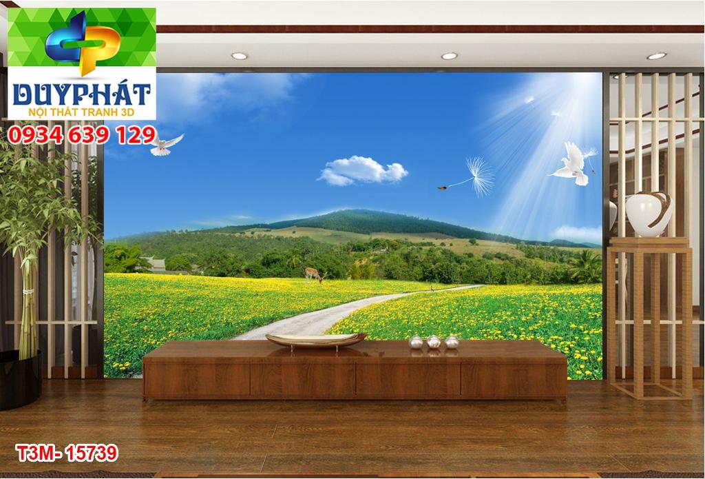 Tranh con đường TCĐ204 của tranh 3D Duy Phát