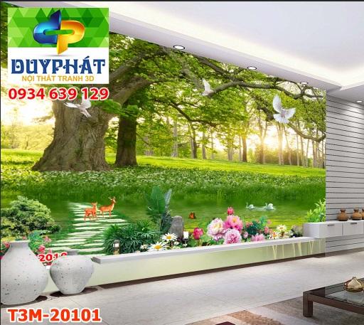 Tranh con đường TCĐ241 của tranh 3D Duy Phát