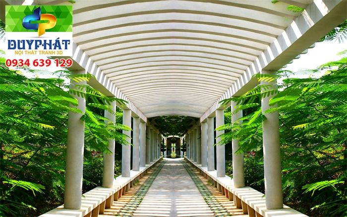 Tranh con đường TCĐ320 của tranh 3D Duy Phát