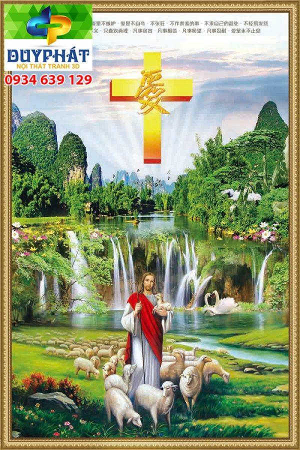 Tranh công giáo TCG003 đẹp
