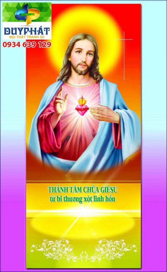 Tranh công giáo TCG010 đẹp