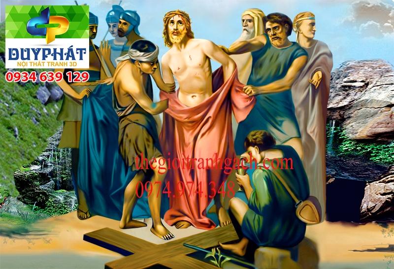 Tranh công giáo TCG025 đẹp