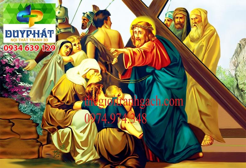 Tranh công giáo TCG029 đẹp