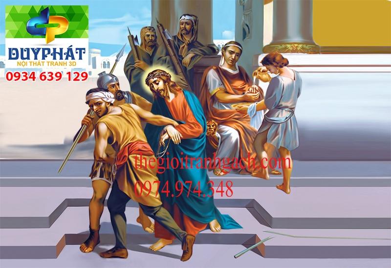 Tranh công giáo TCG036 đẹp