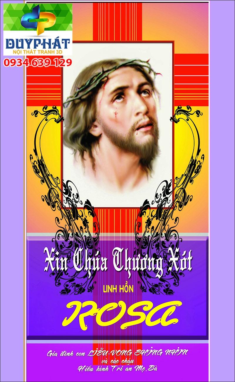 Tranh công giáo TCG038 đẹp