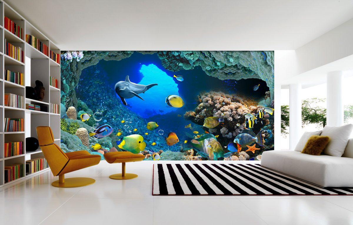 tranh gach 3d 2 1200x766 - Tranh gạch dán tường
