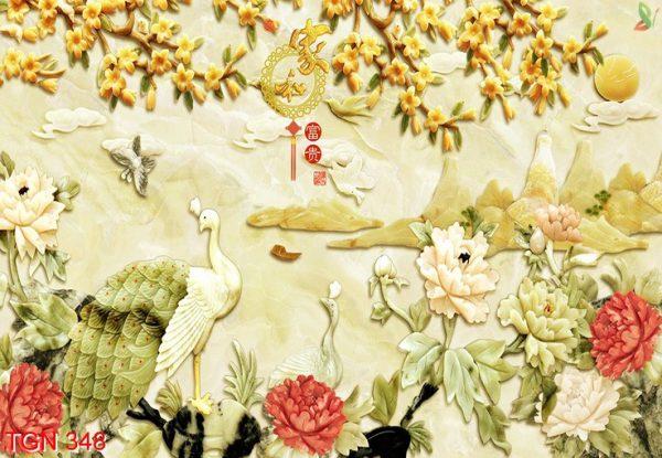 tranh giả ngọc 3d 2 e1554371843479 - Tranh giả ngọc 3d kiệt tác trang trí cho phòng khách