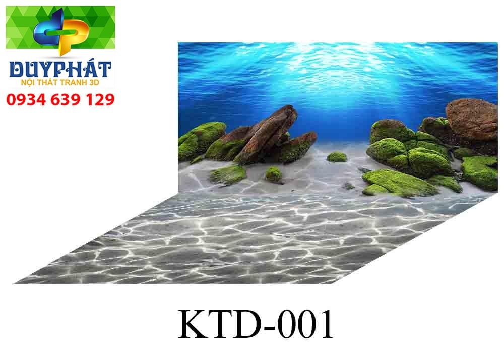 Tranh hồ cá THC312 đẹp cho nhà bạn
