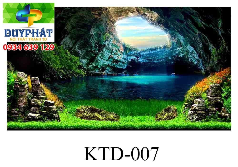 Tranh hồ cá THC317 đẹp cho nhà bạn
